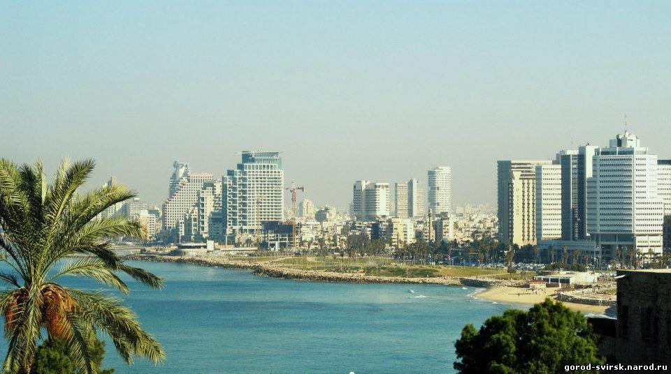 Видна Тель-Авив со смотровой площадки Яфо []