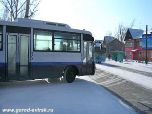 Новые японские автобусы на городских маршрутах