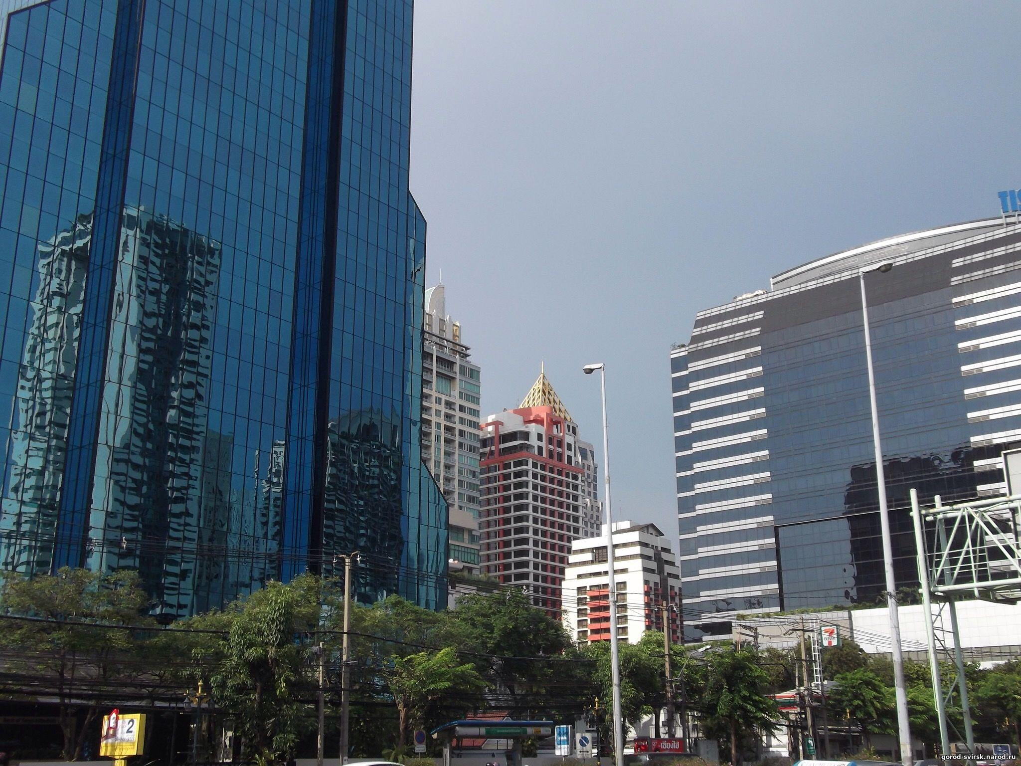 Бангкок. Раннее утро.